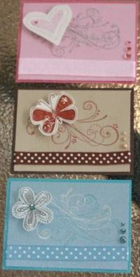 Stampin' Up! Card Toppers
