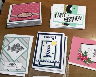 Cards for Troops - donated cards