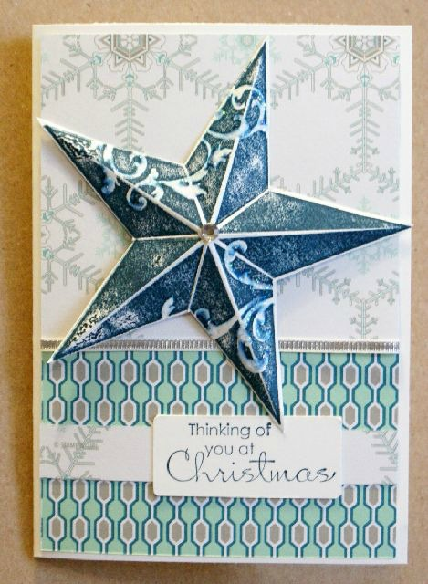 Paper Christmas Star Decoration