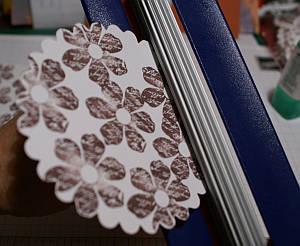 Paper crimping