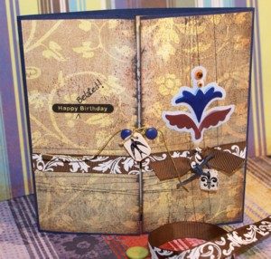 gatefold cards, gatefold card, handmade greeting cards, papercraft