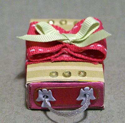 A smalll matchbox that could hold special jewelry