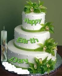 Happy Birthday Paper Cake
