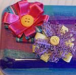An altered art Ferrero Roche chocolate box