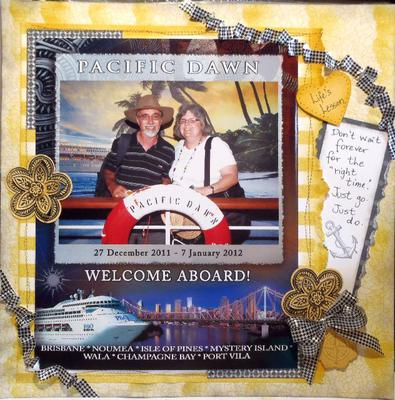 A layout by Susan.