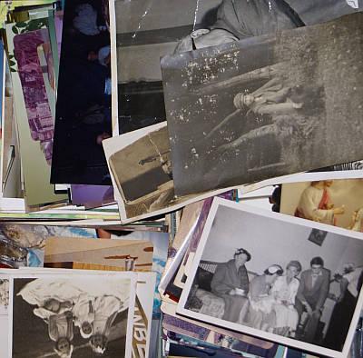 My pile of photos. Where do I start?