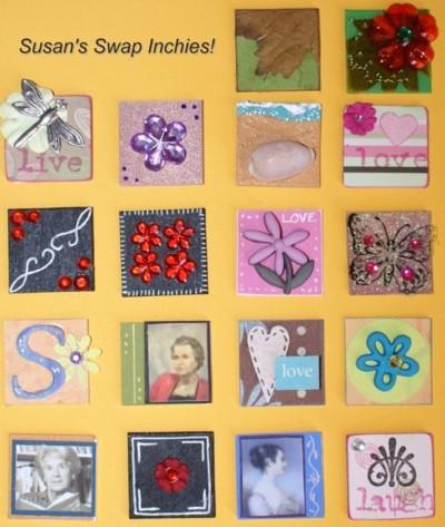 Inchies, scrapbook, art, chipboard