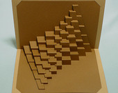 One of Guy's geometric cards showing the slits he is talking about.
