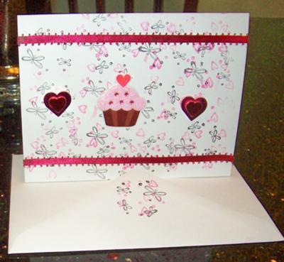 Cupcake Valentine Greeting