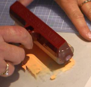 Using a Brayer and Acrylic Paint with a Gelli plate