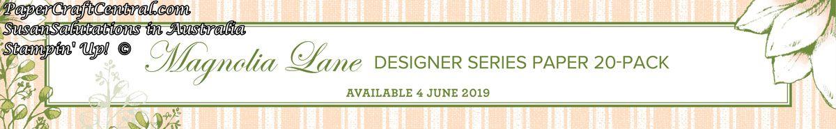 Stampin' Up! Magnolia Lane designer series paper
