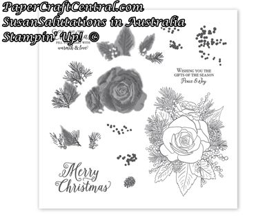 Stampin' Up! Christmas Time is Here stamp set