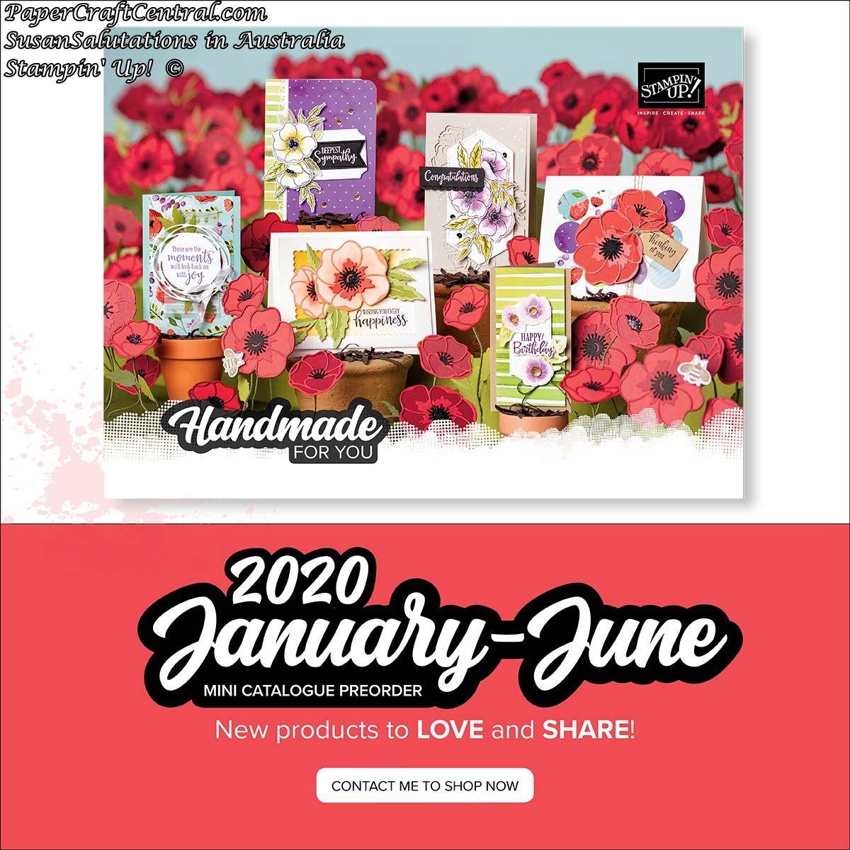 2020 January to June Mini Catalogue