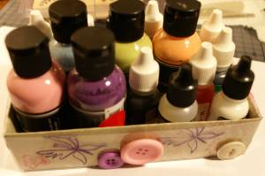 decorate boxes, custom stamping, craft events