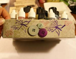 Button decoration idea