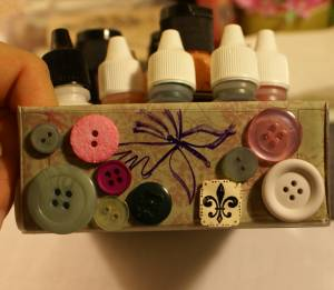 Decorate with Shrinky Dinks