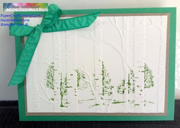 Stamping on embossing folders
