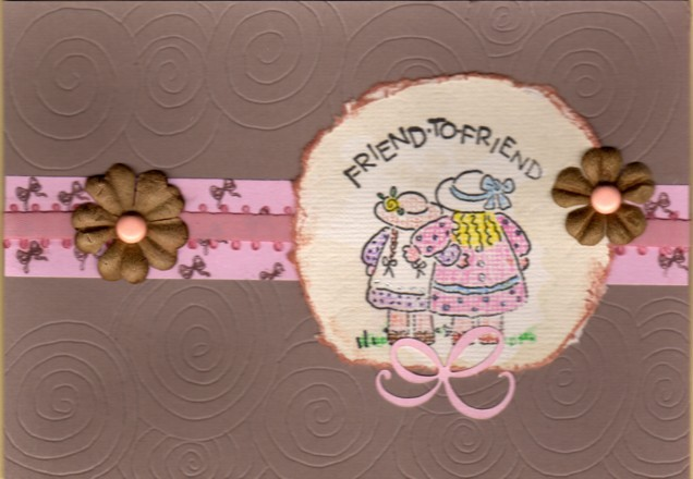 Handmade Scrapbook card embellishment