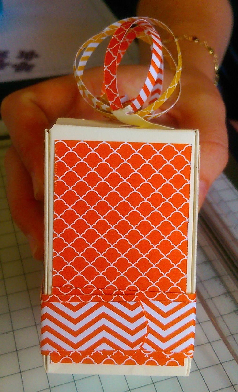 Gift bag punch board ideas
