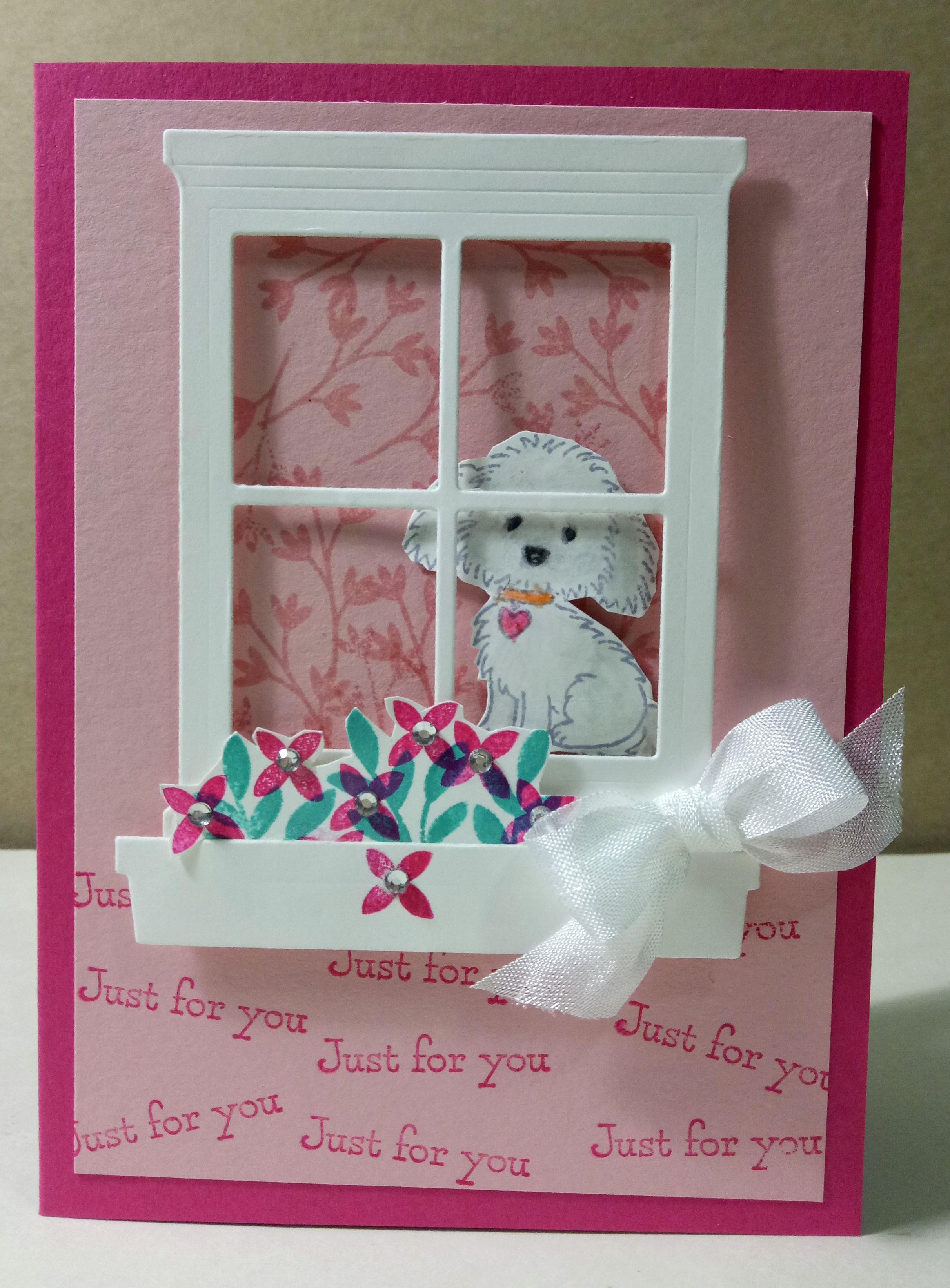 Handmade greeting card idea