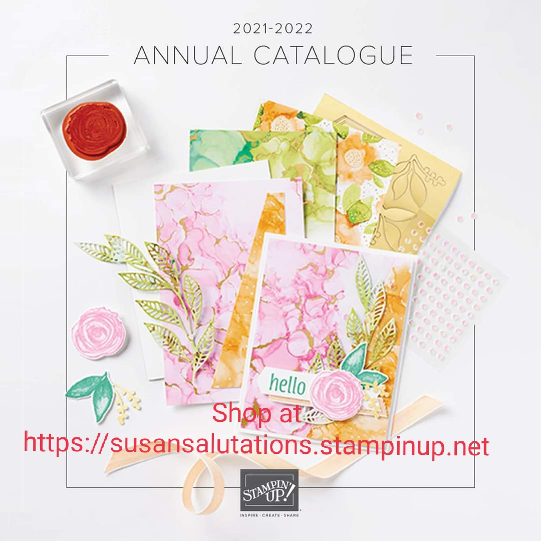 2021-2022 Annual Stampin' Up! Catalogue