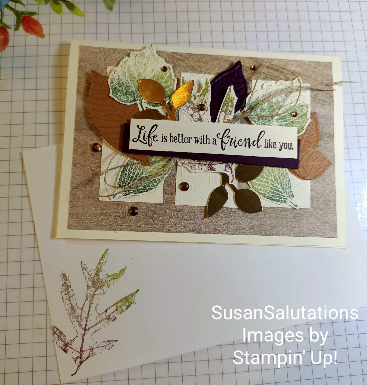 French Foliage Stamp Set