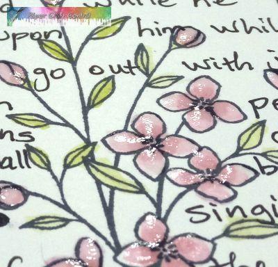 Scripture card detail