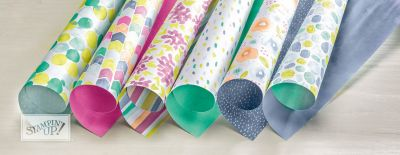 Naturally Eclectic designer series paper