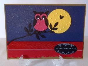 May 2012 creative challenge, paper punch, handmade greeting card, scrapbook