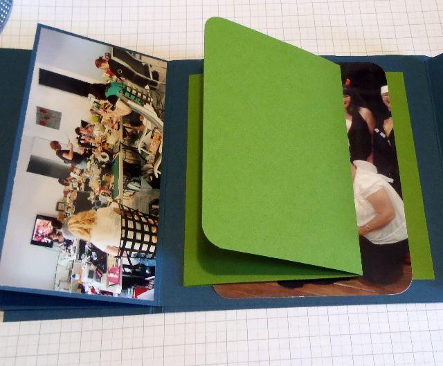 Mini scrapbook albums