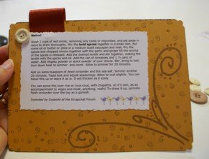recipe cards, index cards, heirloom recipes, scrapbook