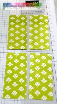Designer Series Paper rectangles