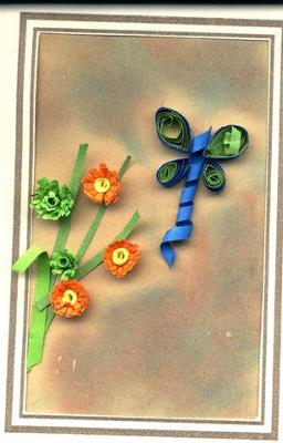 A Quilled Card