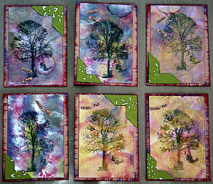 A series of Child's Play ATCs by PaperCraftCentral Susan