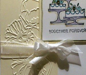 wedding greeting cards2, handmade, papercraft, Big Shot