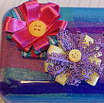An altered art Ferrero Roche chocolate box