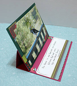 My Magpie Lark easel card