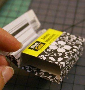 Altered matchbox detail