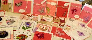 mothers day 2012, cards for troops, handmade greeting, stamping