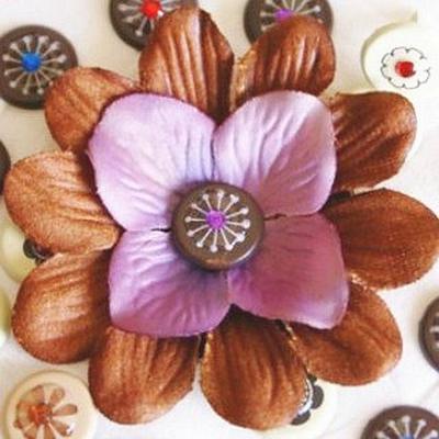 A PaperCraftCentral flower